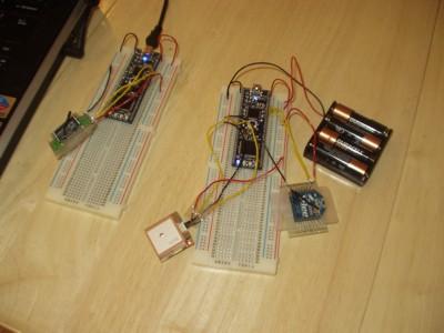 Wireless GPS Transmitter