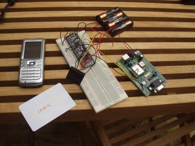 Mobile RFID Tx