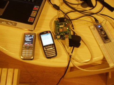 Sending SMS from a microcontroller using Bluetooth and a Mobile Phone!