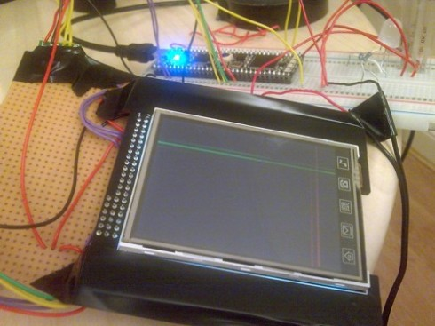 Tip and Touch LCD